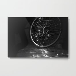 Hope in the Spokes Metal Print