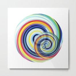 Swirl No. 1 Metal Print