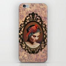 Dame Kardinal iPhone & iPod Skin