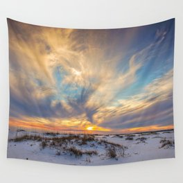 Sunset Dunes Wall Tapestry