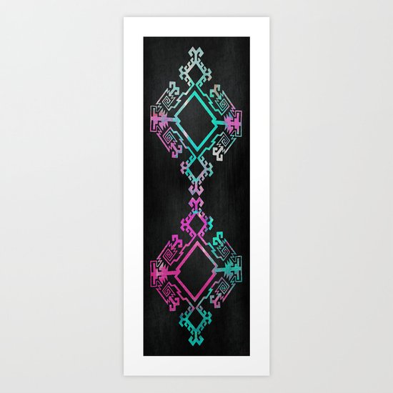 Diamondback Art Print