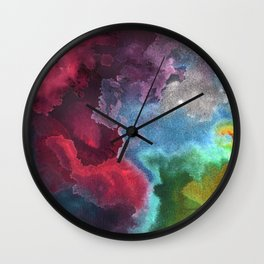 Landscape of my meandering mind Wall Clock