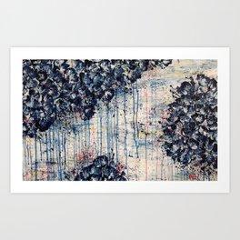 The power of blue Art Print