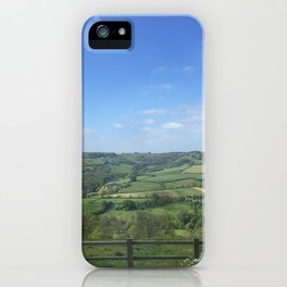 English Countryside iPhone Case