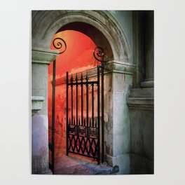 Porters Lodge Gate 1 Poster