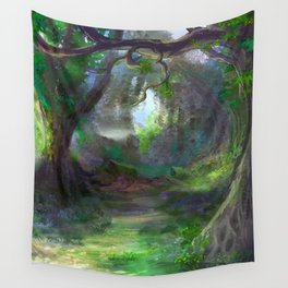 Elven Forest Wall Tapestry