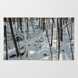 Forest Snow Rug