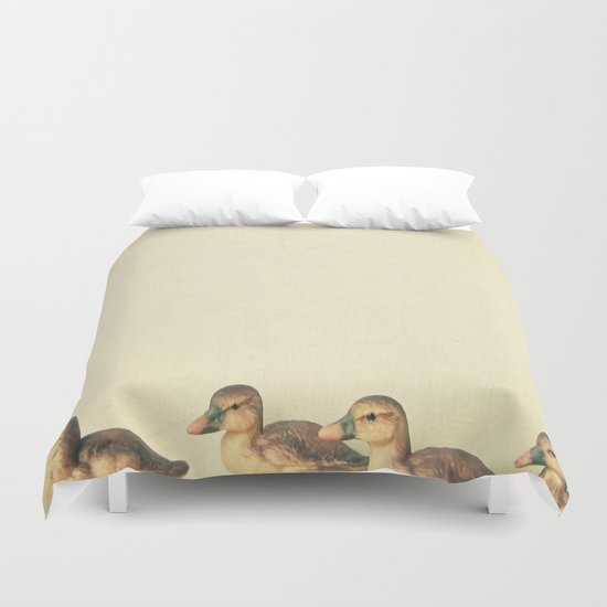 Passing by Duvet Cover