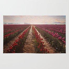 tulips forever Rug