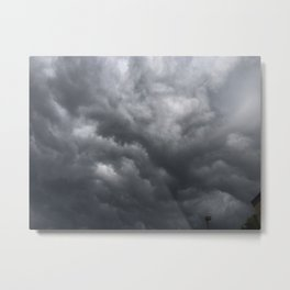 Furious Clouds Metal Print