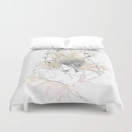 Look Away Duvet Cover