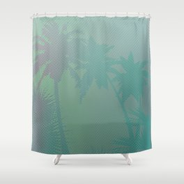 Palm Stories 3 Shower Curtain