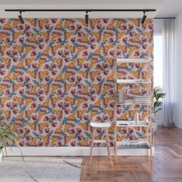 tropical pizza Wall Mural