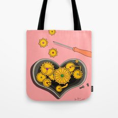 SHIFTING GEARS Tote Bag