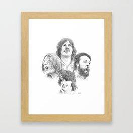 John, Paul, George & Ringo Framed Art Print