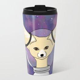 Fennec Foxstronaut Travel Mug
