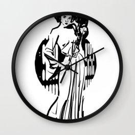 Rest In Peace Carrie Fischer T-Shirt Wall Clock
