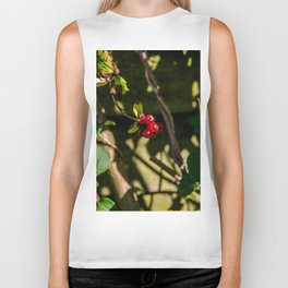 Red Berry Biker Tank