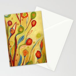 Under a Sky of Peaches and Cream Stationery Cards