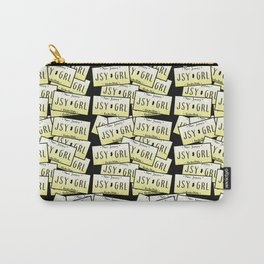 Jersey Girl NJ License Plate Carry-All Pouch