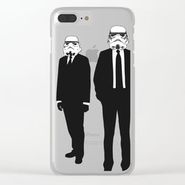 """These Aren't The Prom Dates We're Looking For"" Clear iPhone Case"