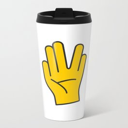 Hand Gesture - Live Long And Prosper Metal Travel Mug