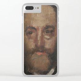 Portrait of the Art Critic Durand-Gréville Clear iPhone Case