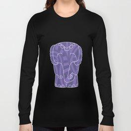 Tiki Elephant Long Sleeve T-shirt