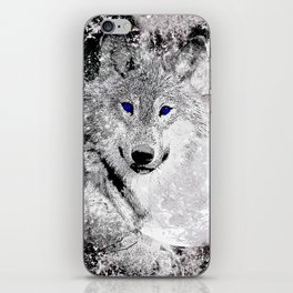 WOLF#5 iPhone Skin
