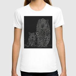 Big Cat Models: Magnified Snow Leopard and Cub 01-03 T-shirt