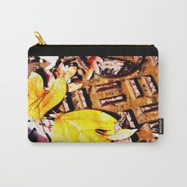 Leaves & Manhole Cover  Carry-All Pouch