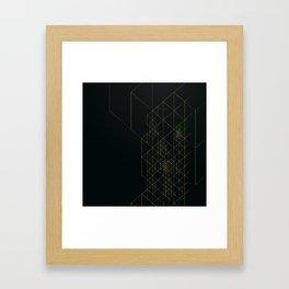 Dark Hitech Framed Art Print