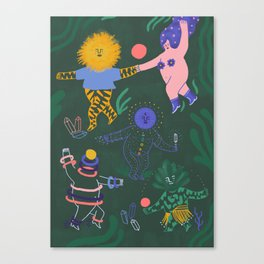 Life is a dance Canvas Print