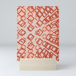 hollow brick05_01 Mini Art Print