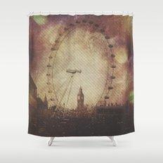 Big Ben in the Eye of London Shower Curtain