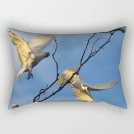Cockies in a tree Rectangular Pillow