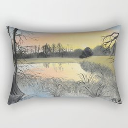 Nudity On The Water Rectangular Pillow