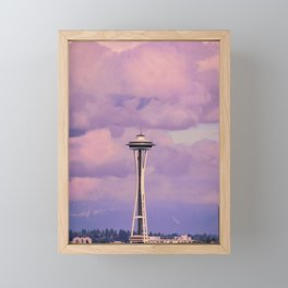 Seattle Space_Needle Framed Mini Art Print