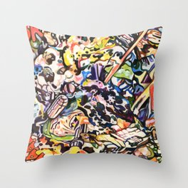 Crucible Throw Pillow