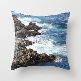 CALIFORNIA COAST - CARMEL - BIG SUR Throw Pillow