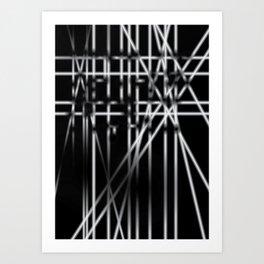 Light in Dark Art Print