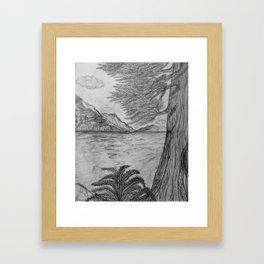 """Deep Forrest"" by Ancientz Artz Framed Art Print"