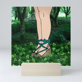 Stroll in an Irish Forest Mini Art Print