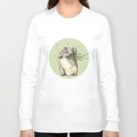 hamster Long Sleeve T-shirts featuring Hamster Love by Nasuta