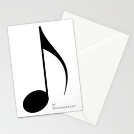 TheVibeArts music is life Stationery Cards