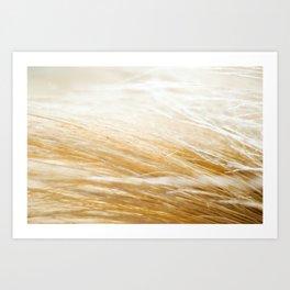 Straw Art Print