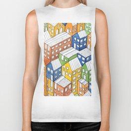 House on house Biker Tank