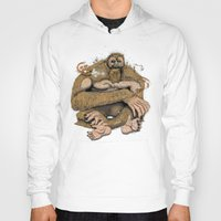 sasquatch Hoodies featuring Sasquatch by Gregery Miller