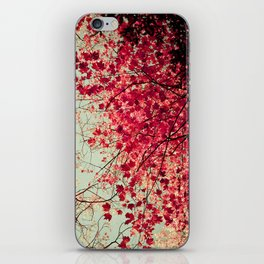 Autumn Inkblot iPhone Skin