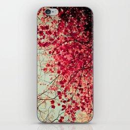 Autumn Inkblot iPhone Skin